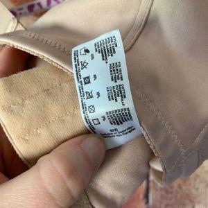 Glamorise Intimates & Sleepwear - GLAMORISE NEUTRAL BEIGE LACE TOP WIRED 46F BRA
